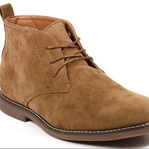 Miko Lotti Men's Lace up  Ankle Chukka BOOTS